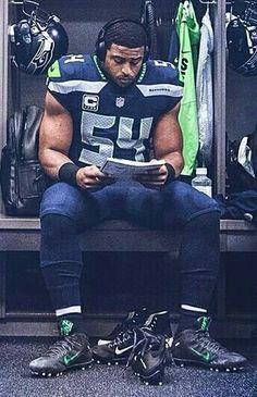 NFL Men's Nike Seattle Seahawks #54 Bobby Wagner Stitched