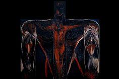 "Exposition du tableau de Roberto Mangú ""Corpus Mundi"""