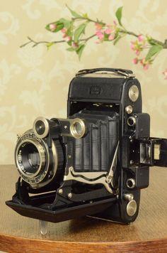 1936 6x9 Super Ikonta with Tessar Lens, FRESHLY SERVICED