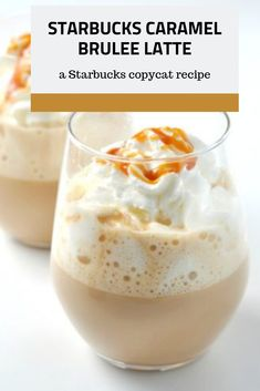 Caramel Brulee Latte Copycat Recipe - This is one of the best Starbucks copycat recipes there is! Just one sip of this Starbucks caramel -Starbucks Caramel Brulee Latte Copycat Recipe - This is one of the best Starbucks copycat recipes there is! Coffee Drink Recipes, Starbucks Recipes, Tea Recipes, Copycat Recipes, Starbucks Copycat Frappuccino Recipe, Ninja Coffee Bar Recipes, Keurig Recipes, Cold Brew Coffee Recipe, Dinner Recipes