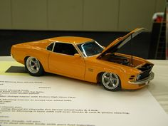 Boss 429 Mustang.