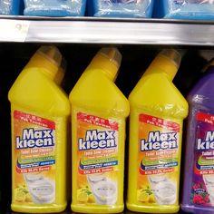 Maxkleen Toilet Bowl Cleaner Lemon Twin Pack 2x500ml