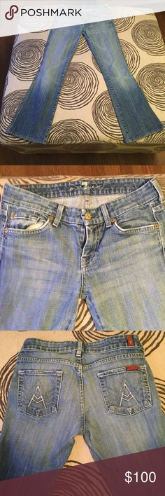 Light wash Bootcut Jeans Slim Bootcut fit. Comfortable and in great condition. 7 For All Mankind Jeans Boot Cut