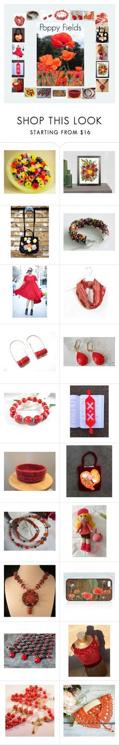 """""""Poppy Fields: Stunning Birthday Gift Ideas"""" by paulinemcewen ❤ liked on Polyvore featuring Hostess, rustic, vintage and country"""