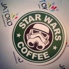 A Ty gdzie kupujesz kawę? #starwarscoffee #jatoko Wlepki gratis w każdej przesyłce ;)