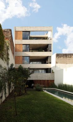 Dos Patios in Buenos Aires, Argentina. Designed by RDR Arquitectos.