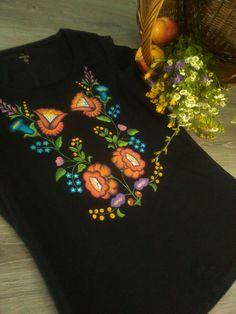 Folk & flower. Ručne maľovaný textil.byzuzy@gmail.com