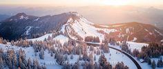 Can't get enough of this beautiful light. Visit Austria, Aerial Images, Dji Phantom 4, Salzburg, Mount Rainier, My Images, Winter Wonderland, Pro Image, Sunrise