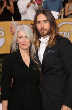Jared Leto's Mum Reveals Good Hair Runs in the Family - Celebrity hair