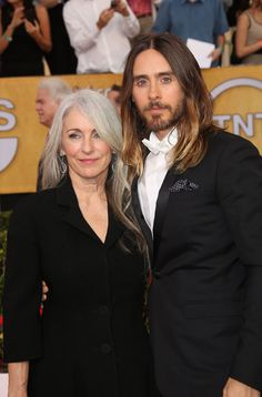 Jared Leto's Mum Reveals Good Hair Runs in the Family - Celebrity hair