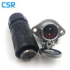 Wp20, 산업용 커넥터, 핀 전기 장비 전원 패널 마운트 커넥터, 정격 전류 25a, 전기 전원 커넥터
