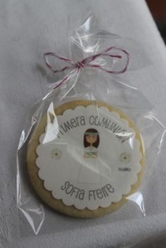 Idea de regalo para los invitados: galleta personalizada Susiko