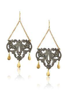 We Dream in Colour Vessigny Earrings, Black, http://www.myhabit.com/redirect/ref=qd_sw_dp_pi_li?url=http%3A%2F%2Fwww.myhabit.com%2Fdp%2FB00IHW0VRA