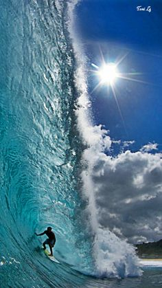 Wow stunning wave!