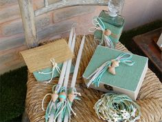 Baptism Ideas, Woodland Forest, Christening, Burlap, Reusable Tote Bags, Gift Wrapping, Wedding Ideas, Gifts, Accessories