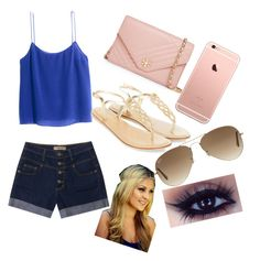 """""""Untitled #10"""" by fordtwin on Polyvore featuring H&M, Tory Burch, Accessorize and Ray-Ban"""