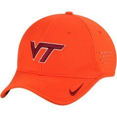b9f6103efeba2 Virginia Tech Hokies Nike Youth Sideline Coaches Performance Adjustable Hat  - Orange