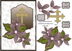 SYM17 Sympathy Flowers  on Craftsuprint - Add To Basket!