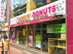 Dunkin' Donuts, Sinchon, Korea