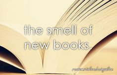 Smell of new books