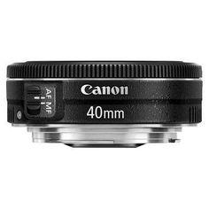 Canon EF 40mm f/2.8 Stm Lens for Canon Dslr Camera - Black (6310B002)