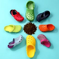 Crocs. I had to resort to wearing Crocs after I received 3rd degree burns on both feet. Comfortable enough to wear :D