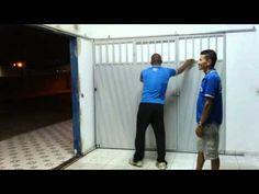 Portão economizador de espaço! - YouTube
