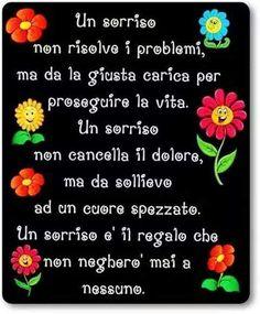 Un sorriso :)