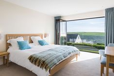 Spacious master bedroom with incredible sea views. Master Bedroom, England, The Incredibles, Sea, Contemporary, Furniture, Home Decor, Master Suite, Decoration Home