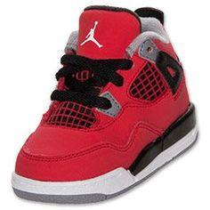 The Air Jordan IV Little Kids' Basketball Shoe is an iconic shoe with a proven track record. In order to keep up with Jordan's championship caliber play, the Air Jordan 4 debuted in 1989. The shoe matched his stellar season in which he achieved NBA All