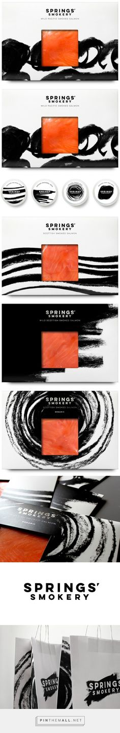 Springs' Smokery on Packaging of the World - Creative Package Design Gallery... - a grouped images picture - Pin Them All