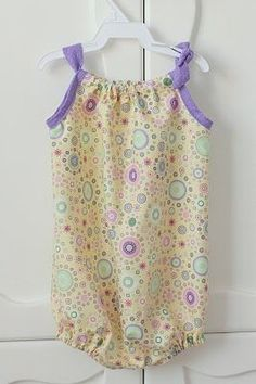 Pillowcase bubble: Sewing Girly Pillowca Rompers Girly Studios ...