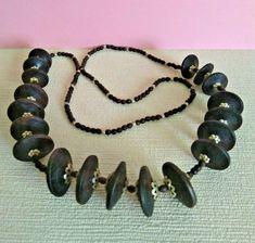 Beaded Statement Necklace, Boho Necklace, Beaded Bracelets, Jewellery, Detail, Brown, Ebay, Jewels, Jewelry Shop
