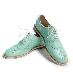 Oxford+Shoes+Wmns+Mint,+172€, now featured on Fab.