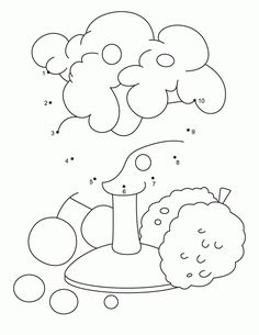 Coloring Pages Connect The DotsToddler