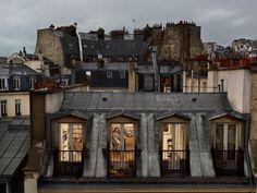 Rear window: Paris, Gail Albert-Halaban