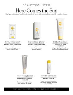 safe sunscreen for sun protection with safe ingredients non toxic