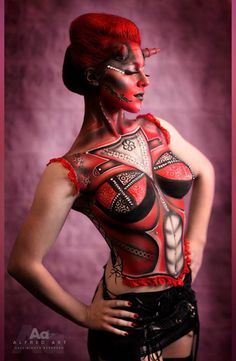 Body Painting + Airbrushing by Dorota Buczel for Kett Cosmetics @IMATS Toronto 2014  #makeupartist  #makeup #artist #toronto #bodyart #fx  #airbrush #airbrushing  #airbrushmakeup #bodypainting #bodypainter #face paint #art #makeupartistshow  #devilgirl #sexy #studiolife  #mobile   #services  #toronto