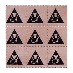 Blotter Art :: LSD Blotter Index from 1980's :: pyramid ❤ liked on Polyvore featuring fillers, backgrounds, pics and pictures