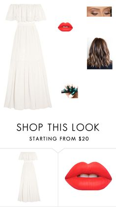 """""""Untitled #255"""" by alisonwhite99 ❤ liked on Polyvore featuring Temperley London and Lime Crime"""
