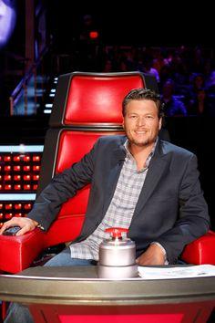 Blake Shelton on The Voice