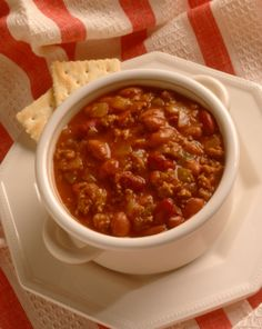Favorite Slow Cooked Chili - Crockpot Chili Recipe with almost all fresh ingredients!