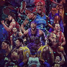 """ถูกใจ 279 คน, ความคิดเห็น 4 รายการ - HYPER-3 (@hyper_three) บน Instagram: """"#everybodyup  #kobeBryant #cameloAnthony #joakimnoah #demarcuscousins #paugasol #sergeibaka…"""" Fsu Basketball, Basketball Posters, Basketball Legends, Basketball Quotes, Michael Jordan Pictures, Best Nba Players, Serge Ibaka, Kobe Bryant Pictures, Creation Art"""
