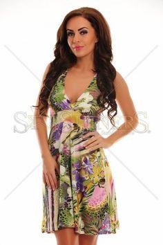 Exotic Meeting Green Dress