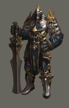Armored Juggernaut, Grate sword.