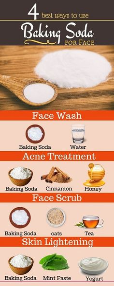4 Best Ways to Use Baking Soda for Beautiful Skin