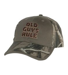Mens Bucks Trucks   Ducks Hat One Size Camo CX1271DLPQD. Old Guys Rule ... c133fda85cff