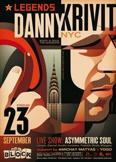LEGENDS: DANNY KRIVIT (Body & Soul, 718 Sessions, NYC) 23.9 at The Block