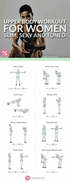 Upper Body Circuit  | Posted By: NewHowToLoseBellyFat.com