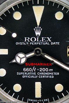 Rolex Submariner 1680 'Red Sub'